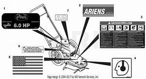Ariens 946105  000101