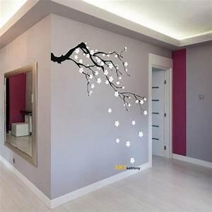 Pochoir Peinture Murale : deko objekte schablone zum malen sakura 3418x ein ~ Premium-room.com Idées de Décoration