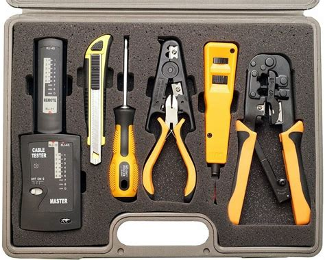 professional computer network installation tool kit