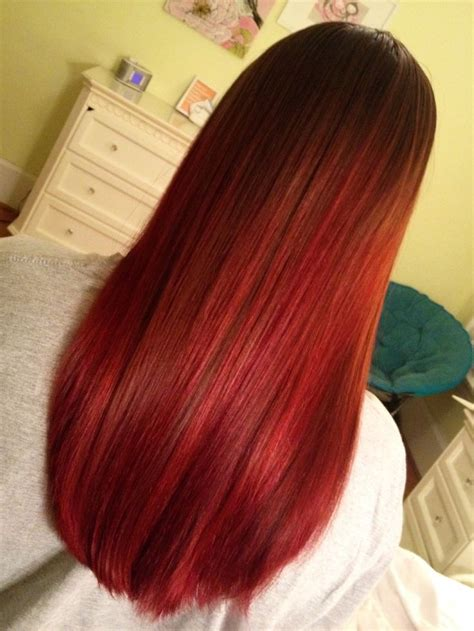 Dying Your Dark Brown Hair With Kool Aid This Looks So