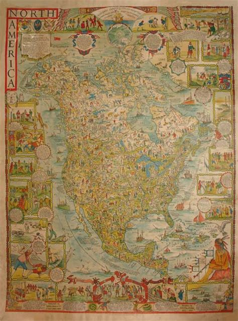 george glazer gallery antique maps pictorial map