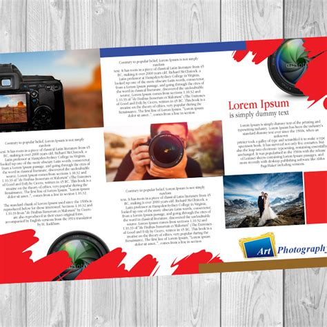 Accordion Fold Brochures 11x17 Digital Print And Signs Brochures 11 X 17 Color Werx Branding Custom