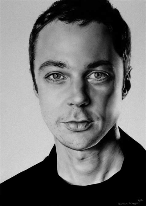 sheldon cooper drawing pencil sketch colorful