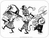 Lock Barrel Shock Coloring Nightmare Before Christmas Santa Mayor Printable Zero Disneyclips Claus Pdf Template Funstuff sketch template