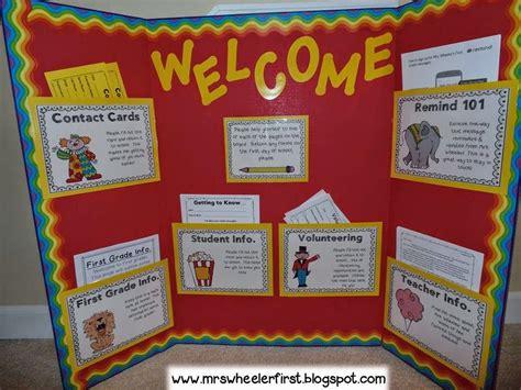 great idea for pto school open house bulletin board 935   4108ea4a65fbf38e7814bd07520ebff3