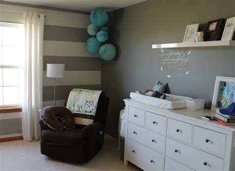 Babyzimmer Wandgestaltung Streifen by Deko Kinderzimmer Wand