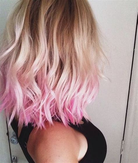 Dipped In Pink Beauty Pinterest Dips Hair Coloring