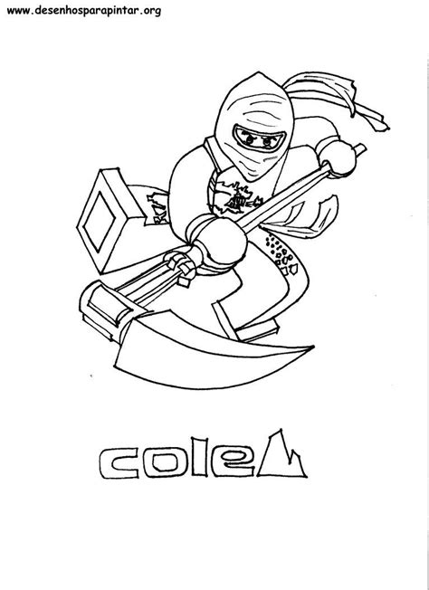 lego ninjago desenhos  imprimir pintar  colorir