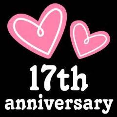17th wedding anniversary 17th anniversary