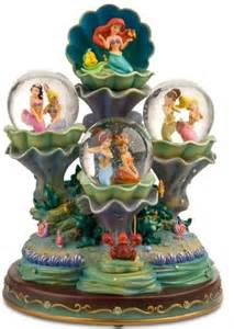 Disney Little Mermaid Snow Globe