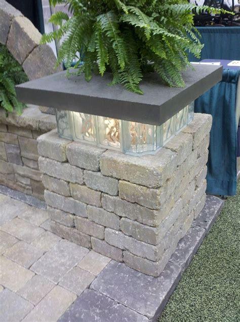 Glasbausteine Im Garten by Glasbausteine In Mauern Verwenden Gartengestaltung In