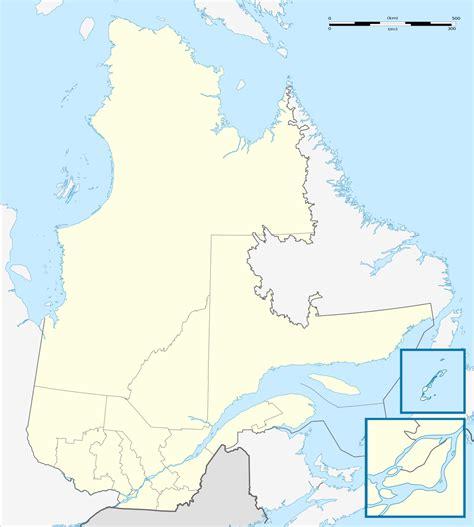 Carte Région Administrative Vierge r 233 gion administrative du qu 233 bec wikip 233 dia