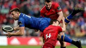 Larmour's stunning try stems Munster comeback as Leinster ...