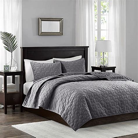 Grey King Coverlet by Buy Park King California King Coverlet Set