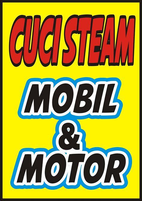 contoh spanduk cuci motorcdr karyaku