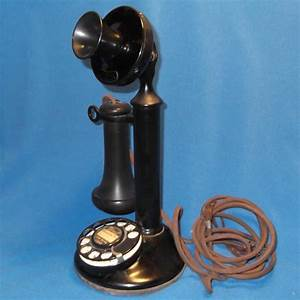 Western Electric Dial Candlestick Telephone