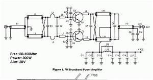 300w Rf Power Amplifier Circuit
