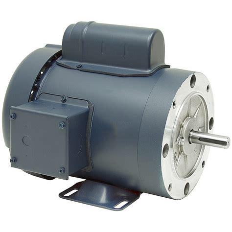 Electric Motor Hp by 3 4 Hp 1800 Rpm 115 230 Vac 56c Tefc Leeson Motor