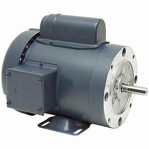 3  4 Hp 1800 Rpm 115  230 Vac 56c Tefc Leeson Motor