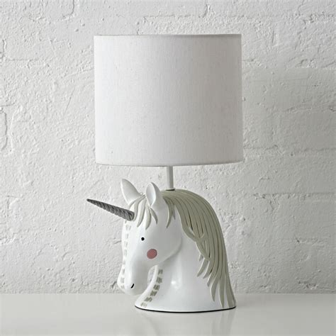 Kids Kitchen Food by Unicorn Table Lamp The Land Of Nod