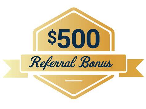 $500 Referral Bonus - WrightDavis