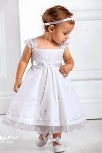 robe bebe fille bapteme With déco chambre bébé pas cher avec couronne fleurs mariage fille