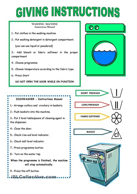Giving Instructions  Instructions  Pinterest  Worksheets, Printable Worksheets And High School