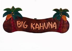 Big Kahuna Palm Tree Sign