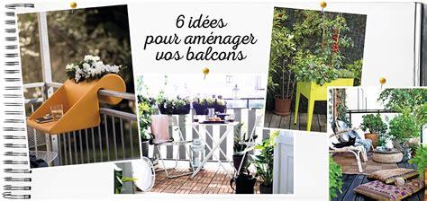 6 Idées Pour Aménager Son Balcon  Déco Idées