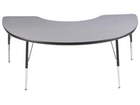 kidney table for classroom group study adjustable kidney shaped table 72x48