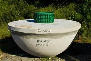 Precast Concrete Septic Tank Sizes Gallery