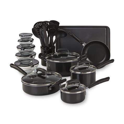 cookware essential piece mega shopping aluminum earn