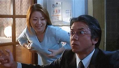 Japanese Movies Giphy Gifs Wife Door