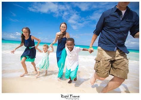 Amanda's Family Having Fun at Waimanalo Beach, Hawaii ...