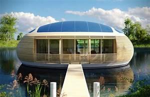 Maison Flottant Prix : cette maison flottante futuriste est incroyable actualit s seloger ~ Dode.kayakingforconservation.com Idées de Décoration