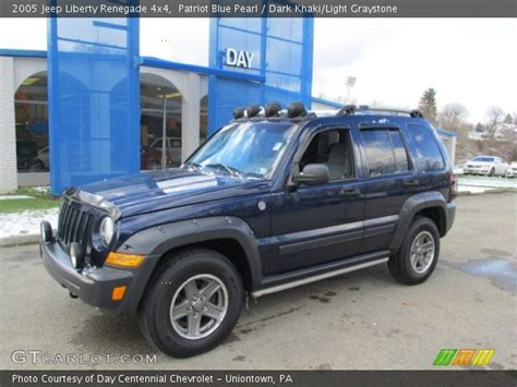 jeep renegade dark blue patriot blue pearl 2005 jeep liberty renegade 4x4 dark