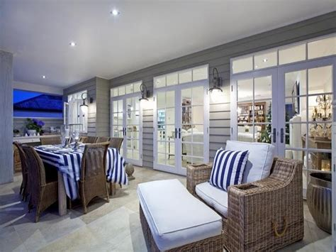 coastal style htons style outdoor living