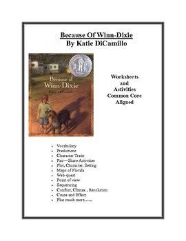 winn dixie worksheets common core aligned
