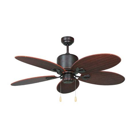 outdoor ceiling fan with heater yosemite home decor tropical breeze 48 in oil rubbed