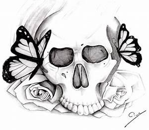 Dessin Tete De Mort Avec Rose : articles de simply drawing tagg s dessin papillon dessins en vracs ~ Melissatoandfro.com Idées de Décoration