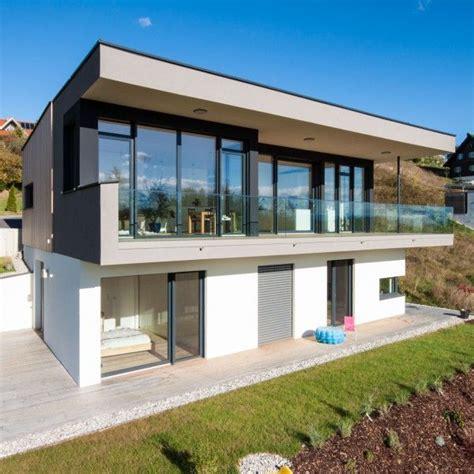 Moderne Leistbare Häuser by Sandwich Holz Architekten Haus In 2019 Haus Hanglage