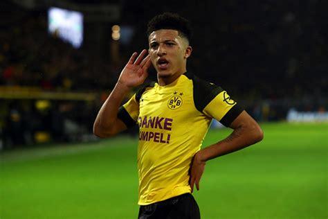 Borussia Dortmund Fine Jadon Sancho Over Haircut