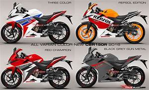 Render Cbr150r 2016 All Varian Color