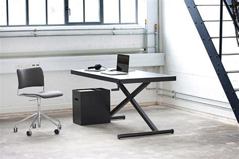 bureau hauteur ajustable bureau minimaliste xtable à hauteur ajustable