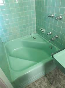 Adding A Shower To A Bathtub by 36 1950s Green Bathroom Tile Ideas And Pictures