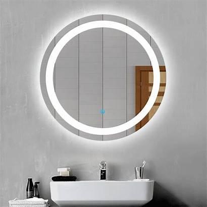 Led Badspiegel Rund Touch Mirror Bathroom Round