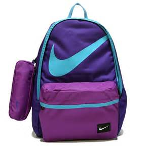 Blue Nike School Backpacks