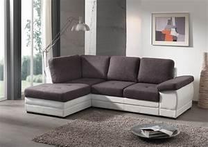 salon gris et blanc With tapis de course pas cher avec canapé gris anthracite 3 places