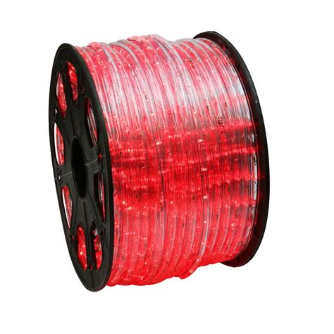 red rope lights 150 led rope light home outdoor lighting wyz works