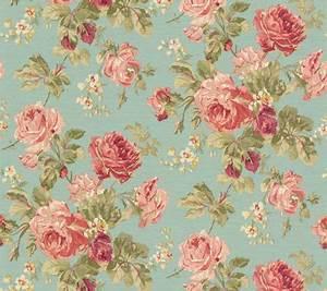 Lovely rose patterned wallpaper | flower wallpaper ...